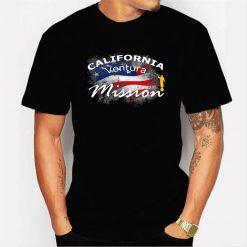 California Ventura Mormon Lds Mission Missionary Gift Men T Shirt