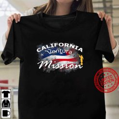 California Ventura Mormon Lds Mission Missionary Gift Women T shirt