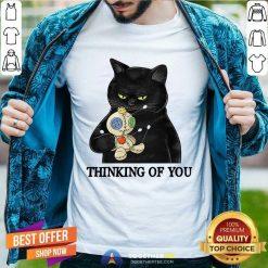 Cat Thingking Of You Classic Men T Shirt