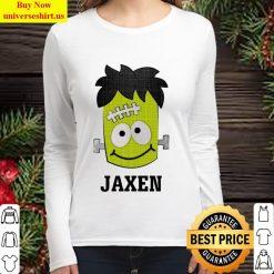 Frankenstein Jaxen Halloween Women Long Sleeved T Shirt