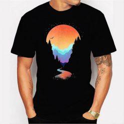 Lost In Eternal Wonderland Men T Shirt