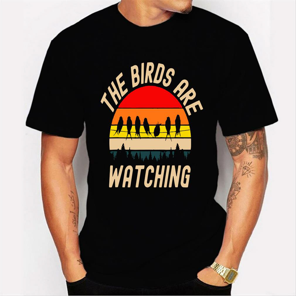 The Birds Are Watching Men T Shirt