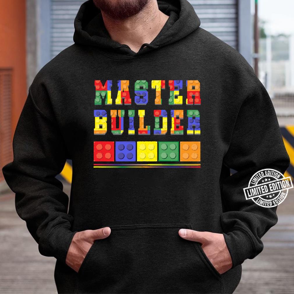 Cute Master Block Builder Bricks Unisex Hoodie