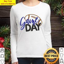 girl loves gameday Women Long Sleeved T Shirt