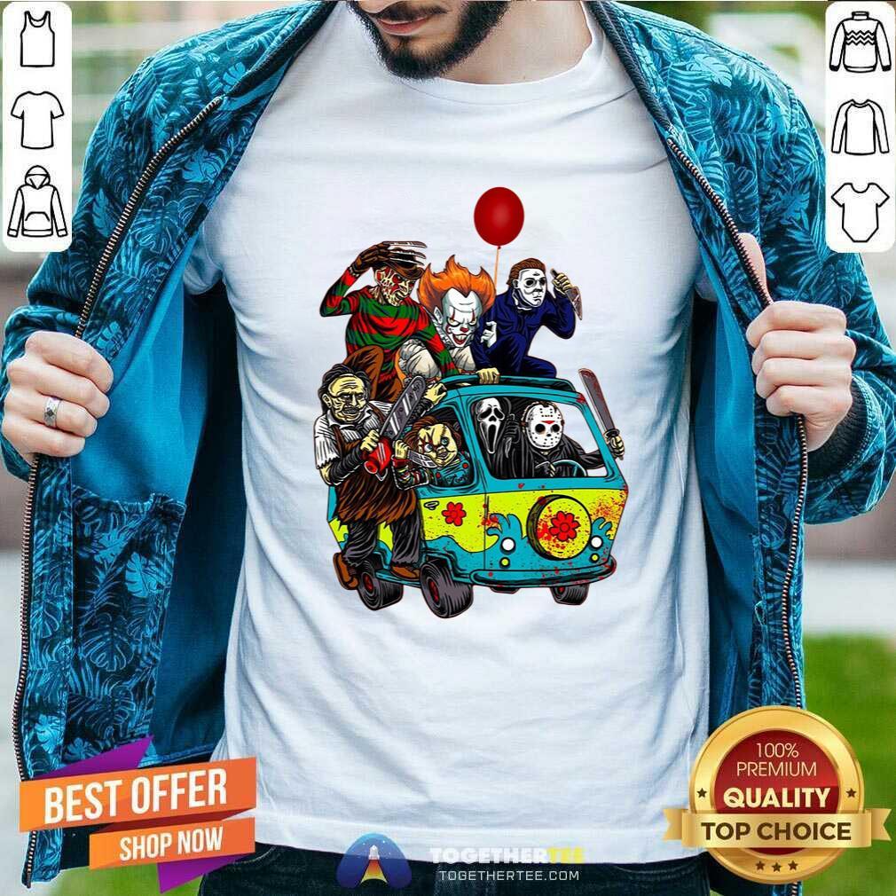 Halloween, Massacre Machine Halloween Horror Characters, Friends Halloween Tee T-Shirt Men T-shirt