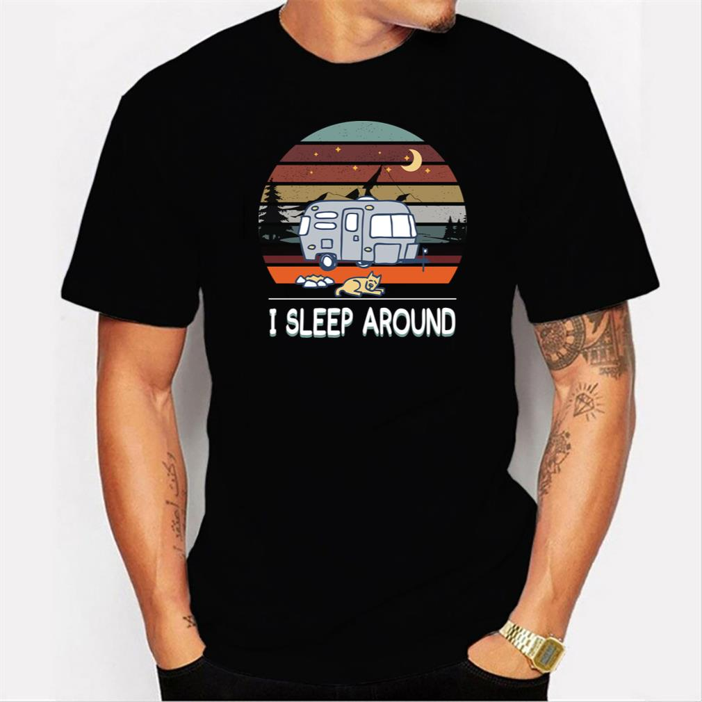 special shirt isleep around men t shirt