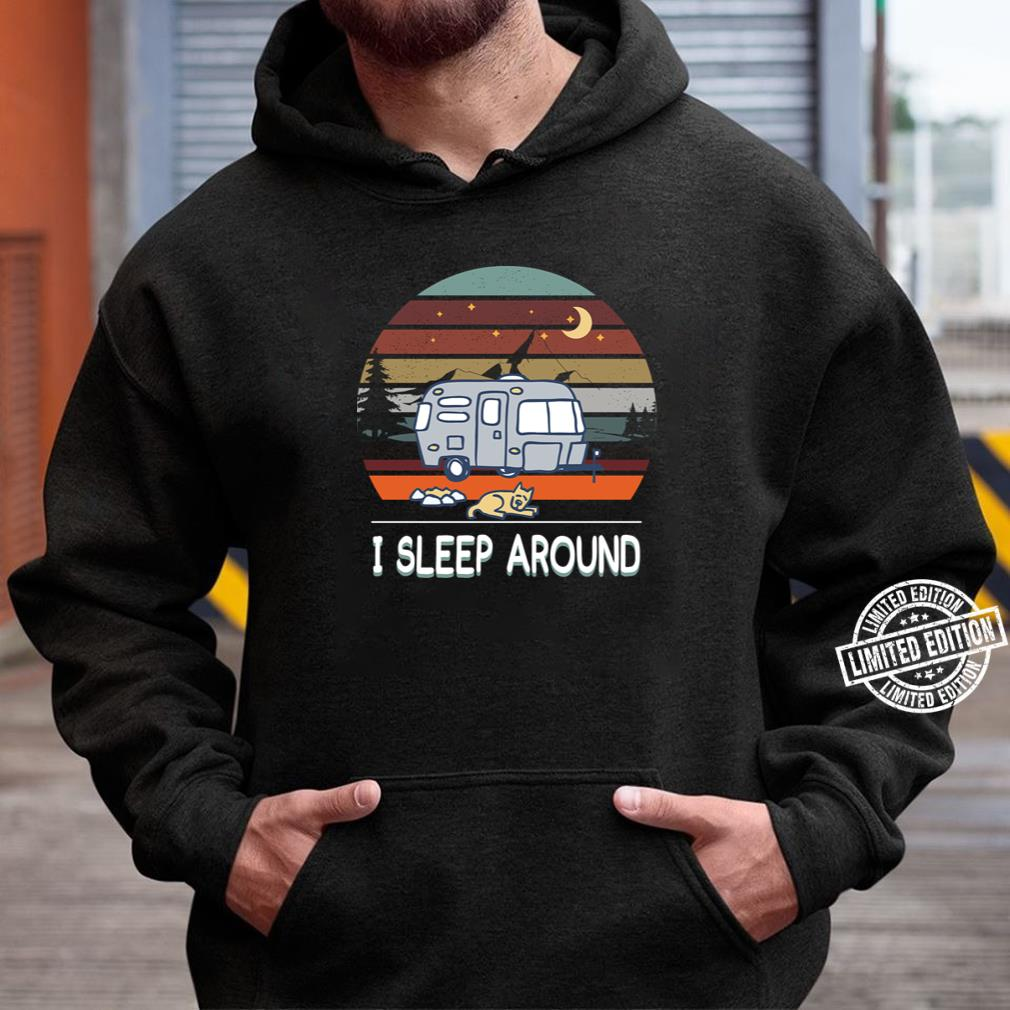special shirt isleep around unisex hoodie