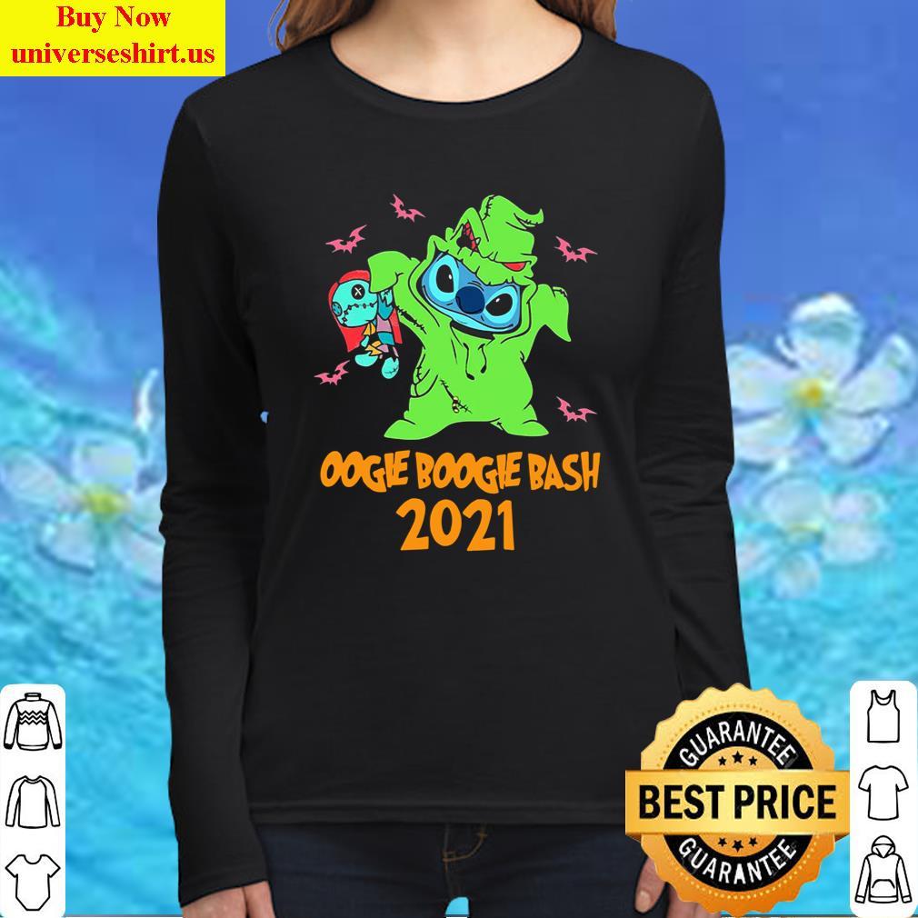 Stitch Oogie Boogie Bash Halloween 2021 Tee T-Shirt Long Sleeved Shirt