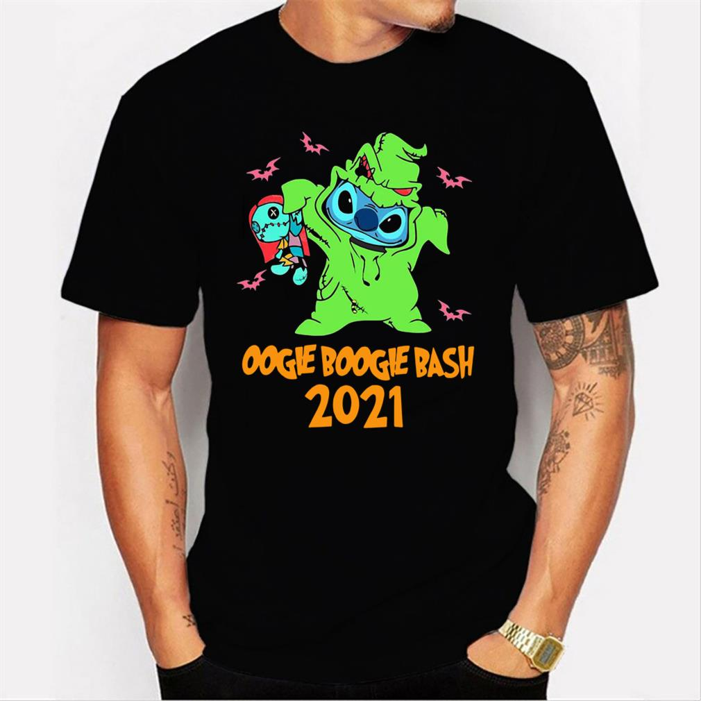 Stitch Oogie Boogie Bash Halloween 2021 Tee T-Shirt Men T-shirt