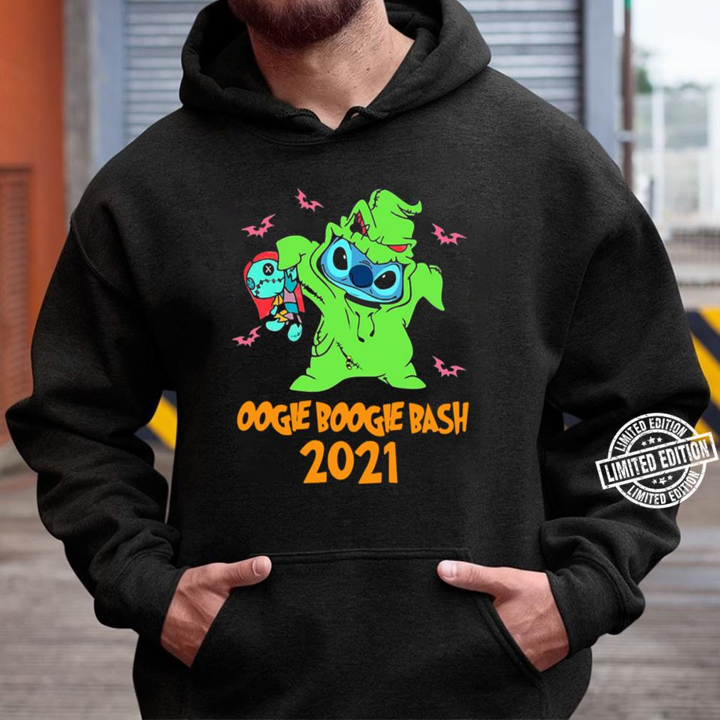 Stitch Oogie Boogie Bash Halloween 2021 Tee T-Shirt Unisex Hoodie