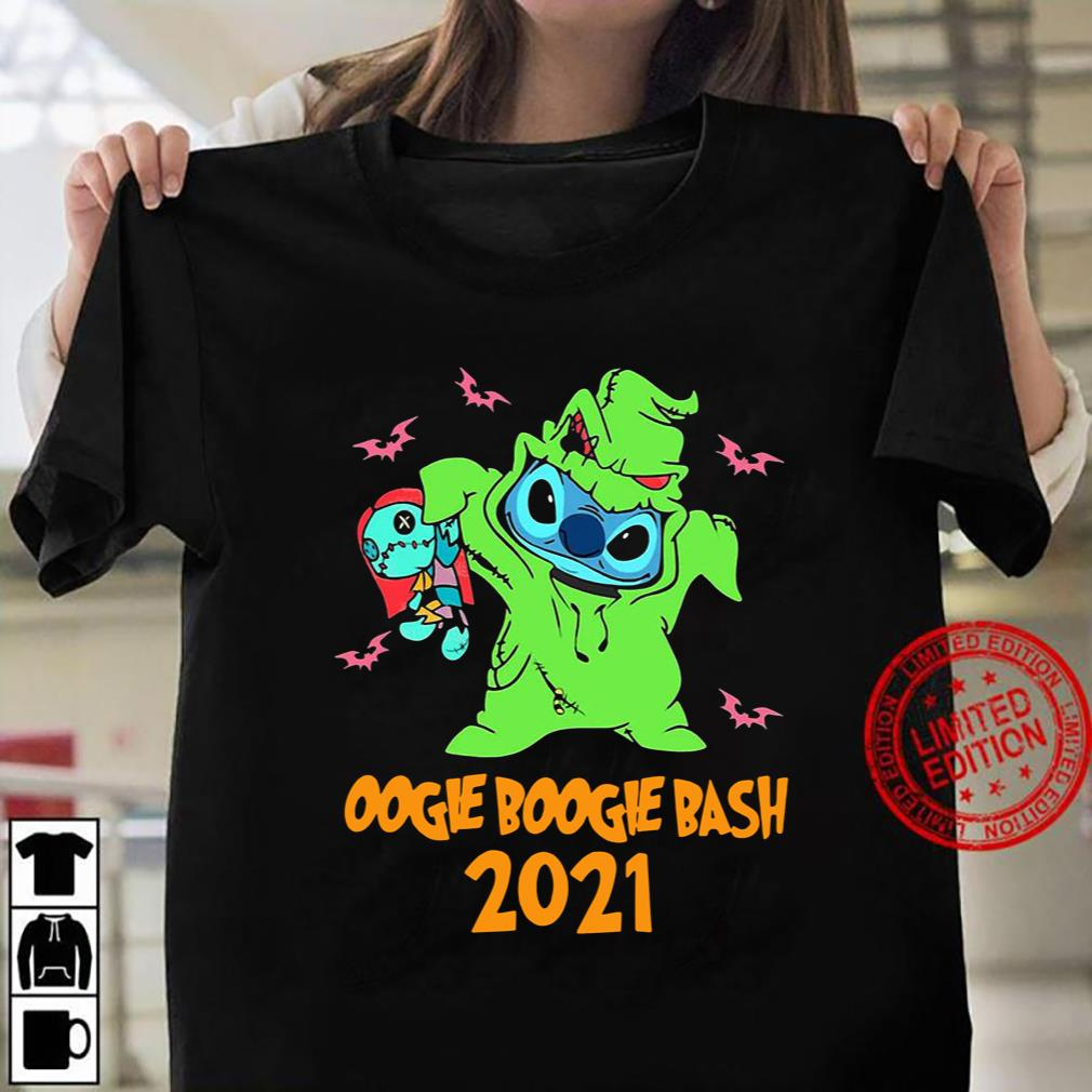 Stitch Oogie Boogie Bash Halloween 2021 Tee T-Shirt Women T-shirt