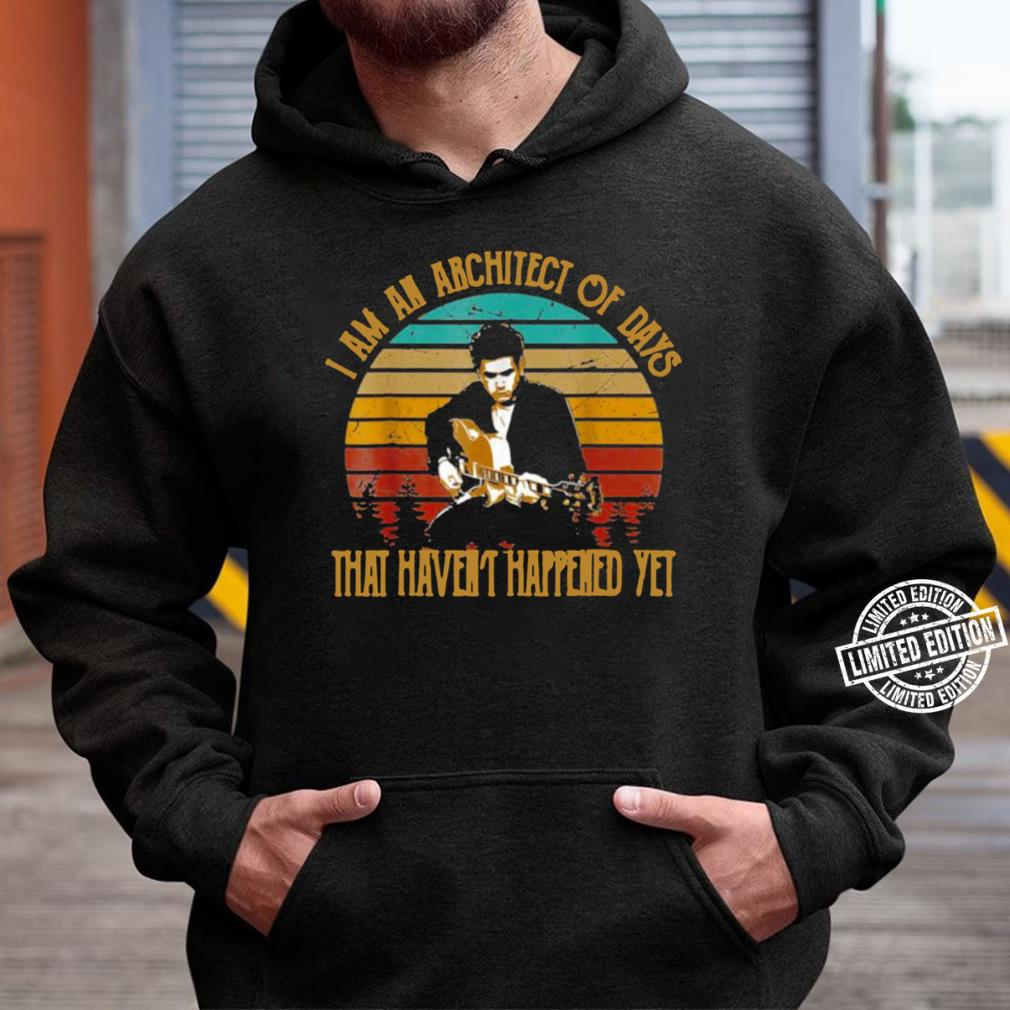 vintage john mayers i am an architect unisex hoodie