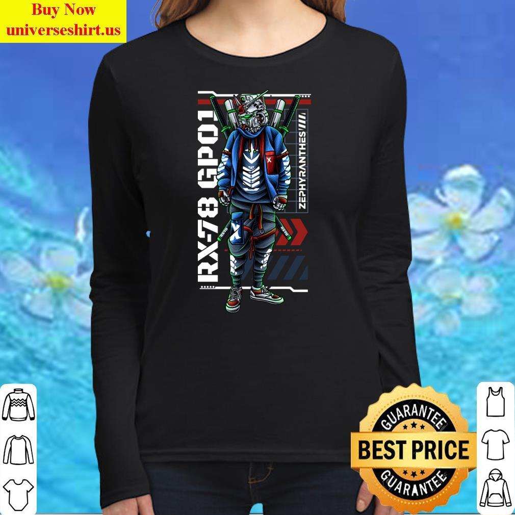 Gundam Rx-78 Gp01 Tee T-Shirt Long Sleeved Shirt