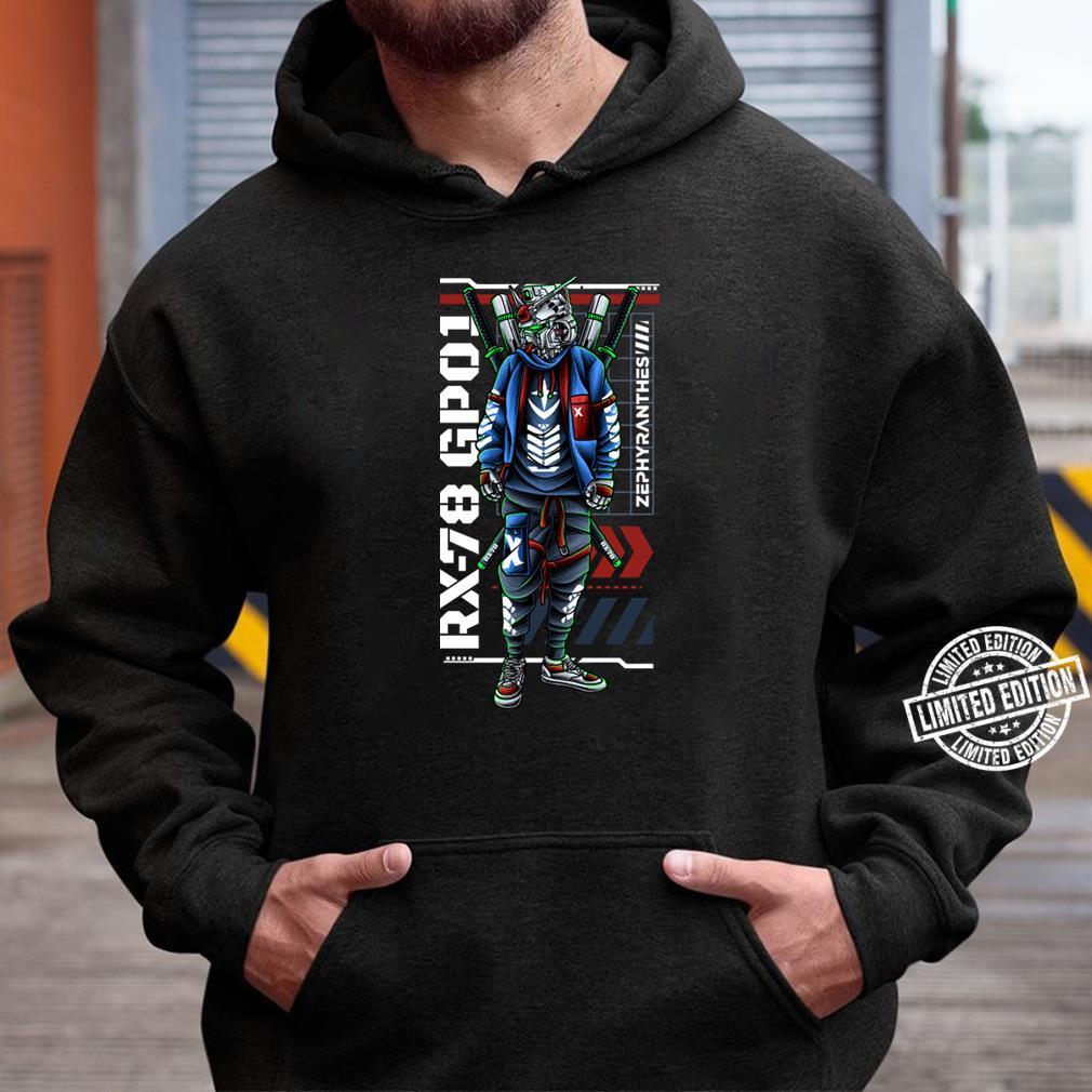 Gundam Rx-78 Gp01 Tee T-Shirt Unisex Hoodie